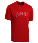 13 - Custom Heat Pressed Angels Youth Wicking MLB Replica Jersey - M1261 - Angels-M12612030 7ffb6d911aa91052015224620804