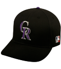 the one and onley  - Colorado Rockies - Official MLB Hat for Little Kids Leagues - Rockies_Baseball_Hat_2752043 - Custom Heat Pressed f9801066505822620152240989