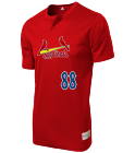 88-88 Youth Cardinals Two-Button Jersey - Cardinals-MAIY83
