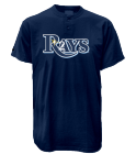 2 Custom Tampa Bay Rays Two-Button Jersey - Tampa Bay Rays-MAI383