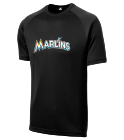 Carter's Mom 1 - Custom Heat Pressed Marlins Adult MLB Replica T-Shirt - 5300 - Marlins-53002038 3595689626041842016185142617