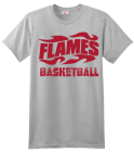 Flames Basketball T-shirt Design 82c6721928e919d6f37c7