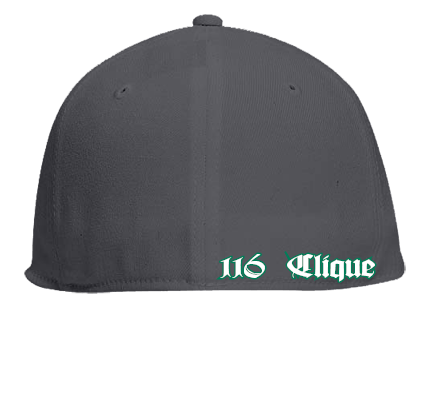 fd843a921e5d6 116 CLIQUE - Flat Bill Fitted Hats 123-969 - 123-9692046 - Custom  Embroidered - CustomPlanet.com