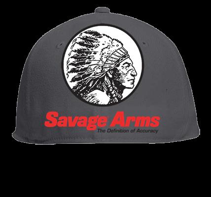 SAVAGE ARMS - Custom Heat Pressed Flat Bill Fitted Hats 123-969 ... 370e7ad09f2