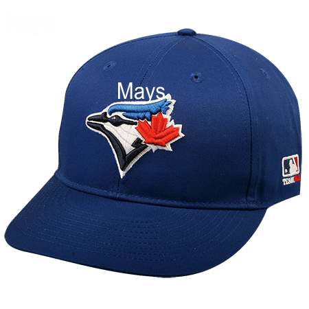 cheap for discount 720d5 02f5c MAYS - Toronto Blue Jays Official MLB Hat for Little Kids Leagues -  BlueJays Baseball Hat 2752042 - Custom Heat Pressed  c2d39a4fd79916102016145654450