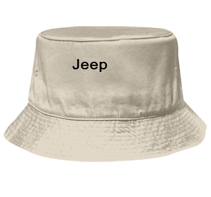 JEEP - Bucket Hat Otto Cap 16-096 - 16-0962043 - Custom Heat Pressed  05824c679e9e2542014232058500 689282aa06b