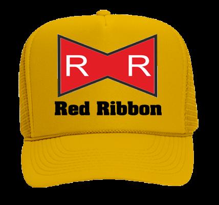 a254aee9 RED RIBBON LOOK AT MAH TRUCKER HAT! - Otto Trucker Hat 39-165 - 39-1652053  - Custom Heat Pressed b5533c3ece702710201615403493