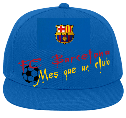 FC BARCELONA - Flat Bill Fitted Hats 123-969 - 123-9692018 - Custom Heat  Pressed e04899b7d69615201213505249 63b636bb635