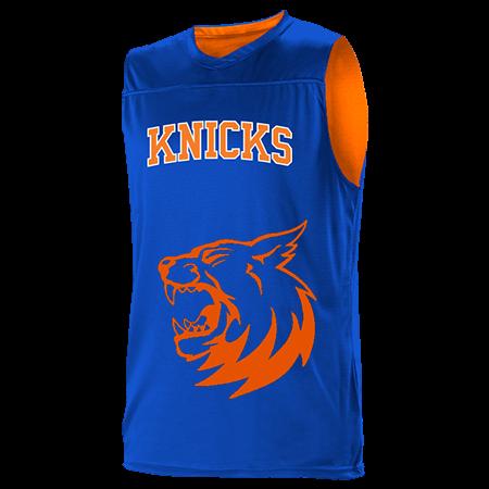 sale retailer 490c4 f8fc6 PORZINGIS 3 - Custom Heat Pressed New York Knicks Youth Reversible  Basketball Jerseys - A105LY-KNICKS - A105LY-KNICKS2039 Youth Small