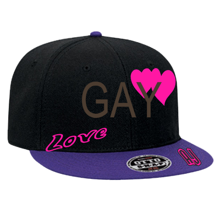 Gay Snapback Flat Bill Hat 125 978 125 9782032