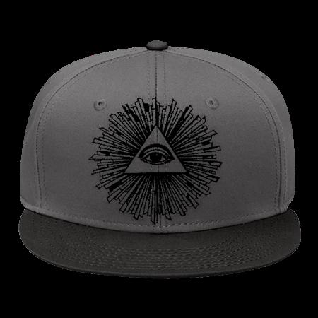 illuminati - Snap Back Flat Bill Hat - 125-1038 - 125-10382017 - Custom  Embroidered 1777b2641459112015133232193 c5a049c0e24