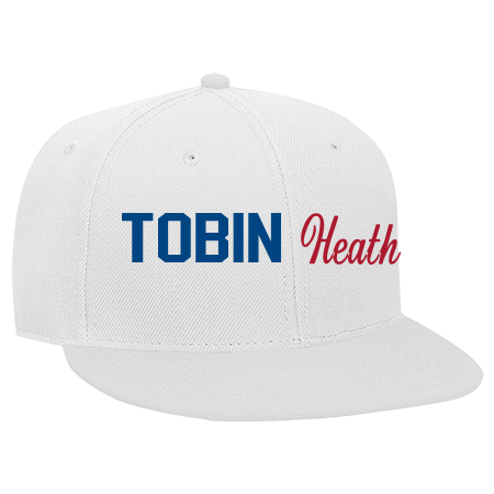 Tobin Heath 1 7 Snapback Flat Bill Hat 125 978 125 9782039