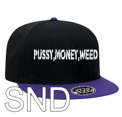 Pussy Money Weed Hat