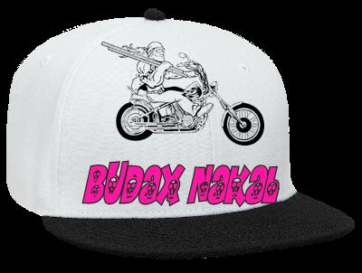 89cbf5592 BUDAX NAKAL - Snapback Flat Bill Hat - 125-978 - 125-9782045 - Custom Heat  Pressed