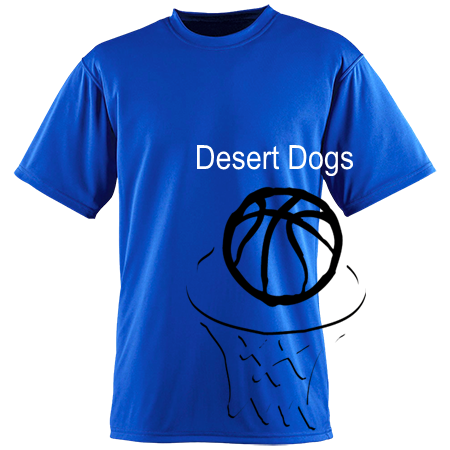 Desert Dogs Augusta Adult Performance Wicking T Shirt