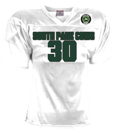 SOUTH PARK COWS UNOFFICIAL - Custom Heat Pressed Adult Flag Football Jersey  - Teamwork Athletic - 1321 - 13212023 093f78f122f5182014181443723 0f8f2324d