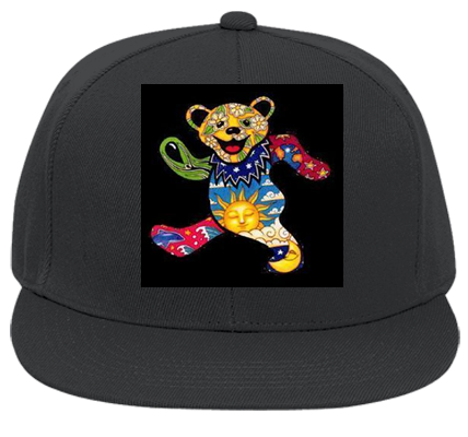 YEA MAN GRATEFUL DEAD - Flat Bill Fitted Hats 123-969 - 123-9692036 - Custom  Heat Pressed 48f9b4f4d88c1212201217535852 6b0fd97c6e4