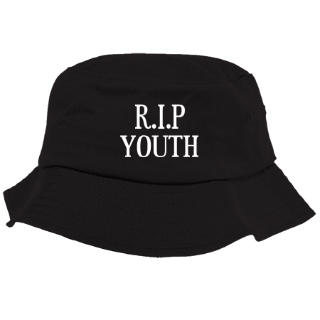 cb6c3d18d48 R I P Youth Bucket Hat 5003 50032045 Custom Embroidered