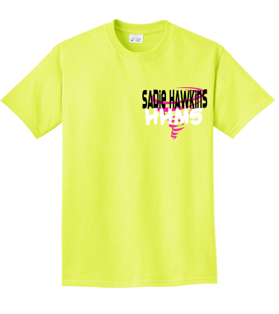 83d09d4039698 Sadie Hawkins Griffith - Design Custom Neon T-shirts - PC0992031 - Custom  Heat Pressed 76c12033b1f399201321493039