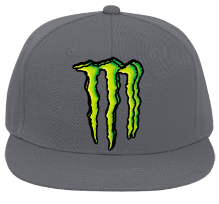 monster energy hat - Flat Bill Fitted Hats 123-969 ...