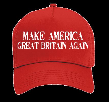 Make America Great Britain Again Otto Trucker Hat 32 510