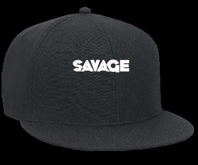 69f5be89c9c32 SAVAGE SAVAGE SAVAGE - Snapback Flat Bill Hat - 125-978 - 125-9782025 -  Custom Heat Pressed e46ce3125f5b932013124743376