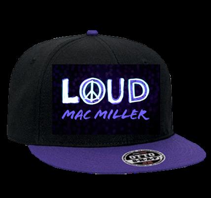 LOUD MAC MILLER - Snapback Flat Bill Hat - 125-978 - 125 ...