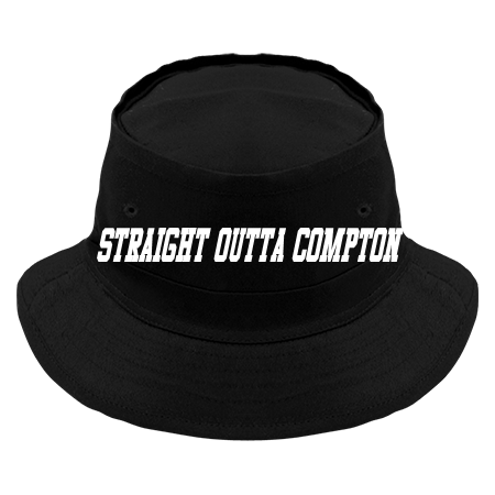 STRAIGHT OUTTA COMPTON - Original Bucket Hat - 450 - 4502051 - Custom Heat  Pressed 085d7a754660315201514950863 50ed92d6d0f