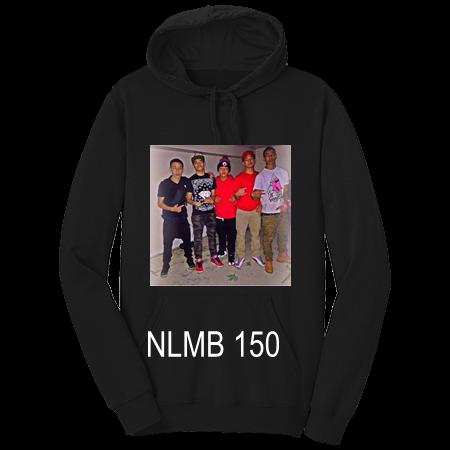 Nlmb 150 Custom Printed Hoodies Dt810 Dt8102036