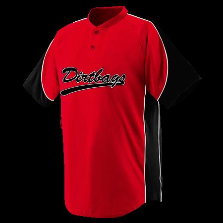 ffea1b801 DIRTBAGS - Custom Heat Pressed Youth Blast Baseball Jersey - 1531 -  15312034 6ed27644612e109201593917127