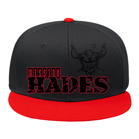 HADES MISSION FAZE CLAN FAZE DIB FAZE DIB - Snap Back Flat Bill Hat -  125-1038 - 125-10382041 - Custom Heat Pressed - CustomPlanet.com e156eba7ac6