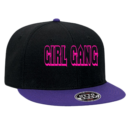 GIRL GANG KATE NASH - Snapback Flat Bill Hat - 125-978 - 125-9782018 -  Custom Heat Pressed - CustomPlanet.com 8ad24b2eb87