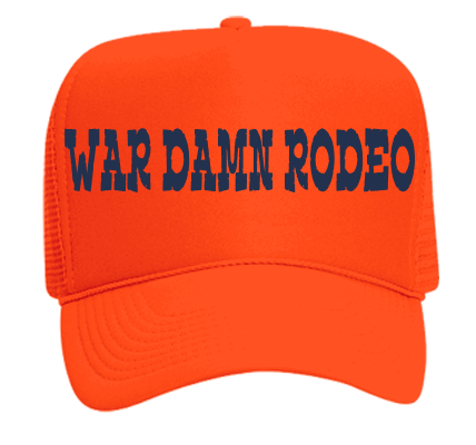 WAR DAMN RODEO - Custom Heat Pressed Neon Trucker Hat Otto Cap 55-133 -  55-1332019 433756dd544a34201217181721 1601c7124afc