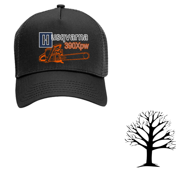 de1331c830b HUSQVARNA H USQVARNA XPW XP 390XPW - Otto Trucker Hat 32-510 - 32-5102044 -  Custom Heat Pressed 852ff1c4c92416122016215953864
