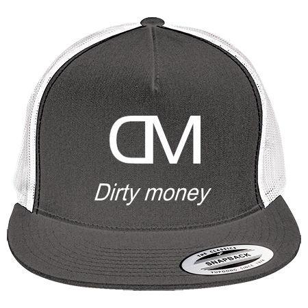 Dirty money logo