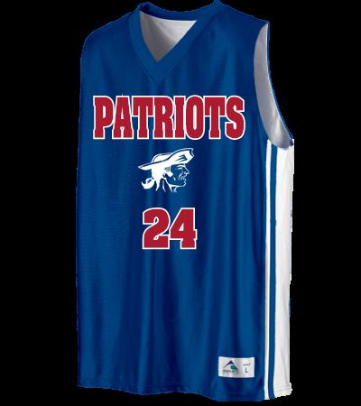 024e52e2ec2f PATRIOTS BASKETBALL - Custom Heat Pressed Youth Basketball Jerseys    Uniforms - 756 - 7562031 Youth Small fe36ad451d96174d58da7A