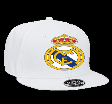 Real Madrid - Custom Heat Pressed Snapback Flat Bill Hat - 125-978 -  125-9782041 - CustomPlanet.com 9d3bd70a686