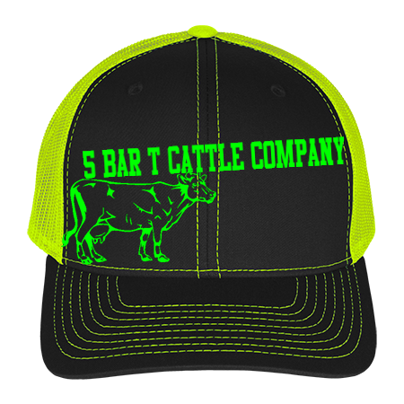 5 Bar T Cattle Company Cotton Twill Mesh Snapback 112