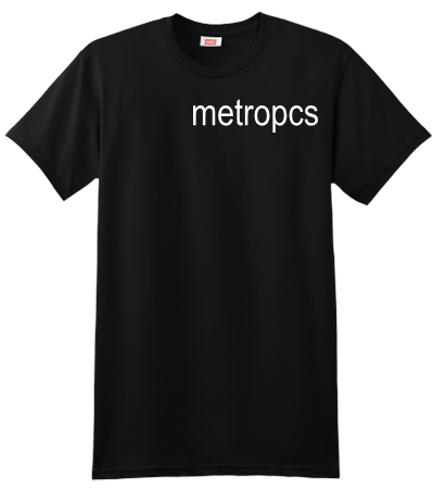 Metropcs Custom Screen Printed Hanes T Shirt 4980