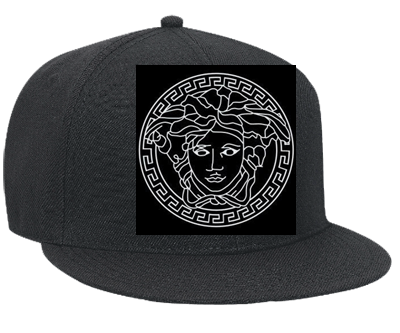 Versace - Snapback Flat Bill Hat - 125-978 - 125-9782038 - Custom Heat  Pressed 83e86ce9ad8f1610201222305653 e62e8213167