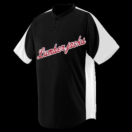 527bc97f9 LUMBERJACKS - Custom Heat Pressed Youth Blast Baseball Jersey - 1531 -  15312043 83a9b49295d52082015171644869