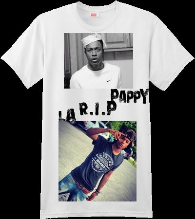 59eb5330f R.I.P LA PAPPY - Custom Screen Printed Hanes T-Shirt - 4980 - 49802040 - Custom  Heat Pressed S fae17648a8142312016171433334A