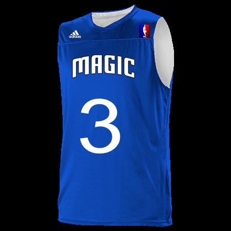 buy online 1e9cd 490cc 3 3 IVERSON 3 3 - Custom Heat Pressed Orlando Magic Youth Reversible  Basketball Jerseys - A105LY-MAGIC - A105LY-MAGIC2038 Youth Small