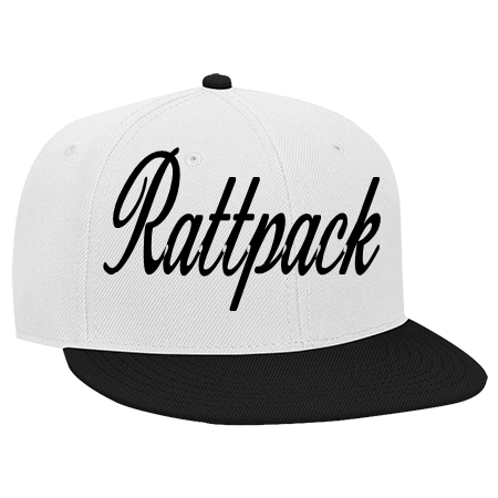 RATTPACK - Snapback Flat Bill Hat - 125-978 - 125-9782026 - Custom Heat  Pressed 2c2d24f7c1501012015141232999 e8e523d0e0a