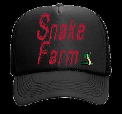 d43736fab0f SNAKE FARM - Mesh Trucker Hat 32-467 - 32-4672031 - Custom Heat Pressed  88a1564363e21342014103312301