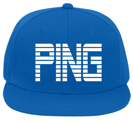 PING - Custom Heat Pressed Flat Bill Fitted Hats 123-969 - 123-9692015  f2194e97c1de21201218131106 5428f4e65d7