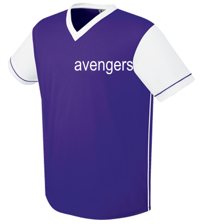 sports shoes 1a708 ad13f AVENGERS - Adult Arsenal Soccer Jersey - 22750 - Custom Heat ...
