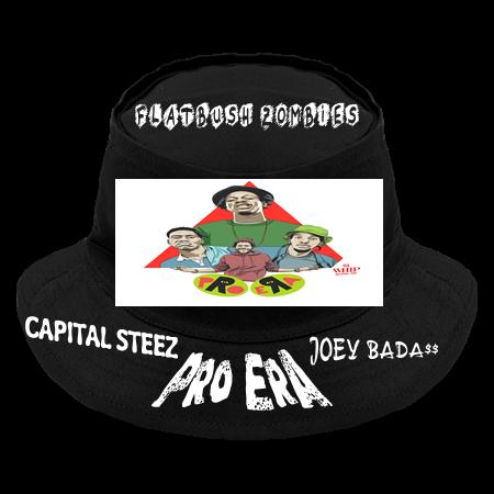FLATBUSH ZOMBIES JOEY BADA   CAPITAL STEEZ - Original Bucket Hat - 450 -  4502046 - Custom Heat Pressed cda9b3136ba02011201591813173 651e427e617