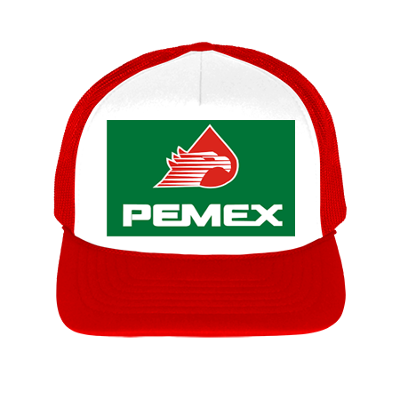 pemex - Foam Trucker Meshback Hat - 113 - 1132038 - Custom Heat Pressed  61a54f0a0a85193201695544872 a9e3502fae2