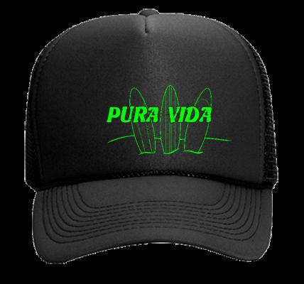 PURA VIDA - Mesh Trucker Hat 32-467 - 32-4672050 - Custom Heat Pressed  b2bb2bc72bc52882014205241203 ef249cb6df1